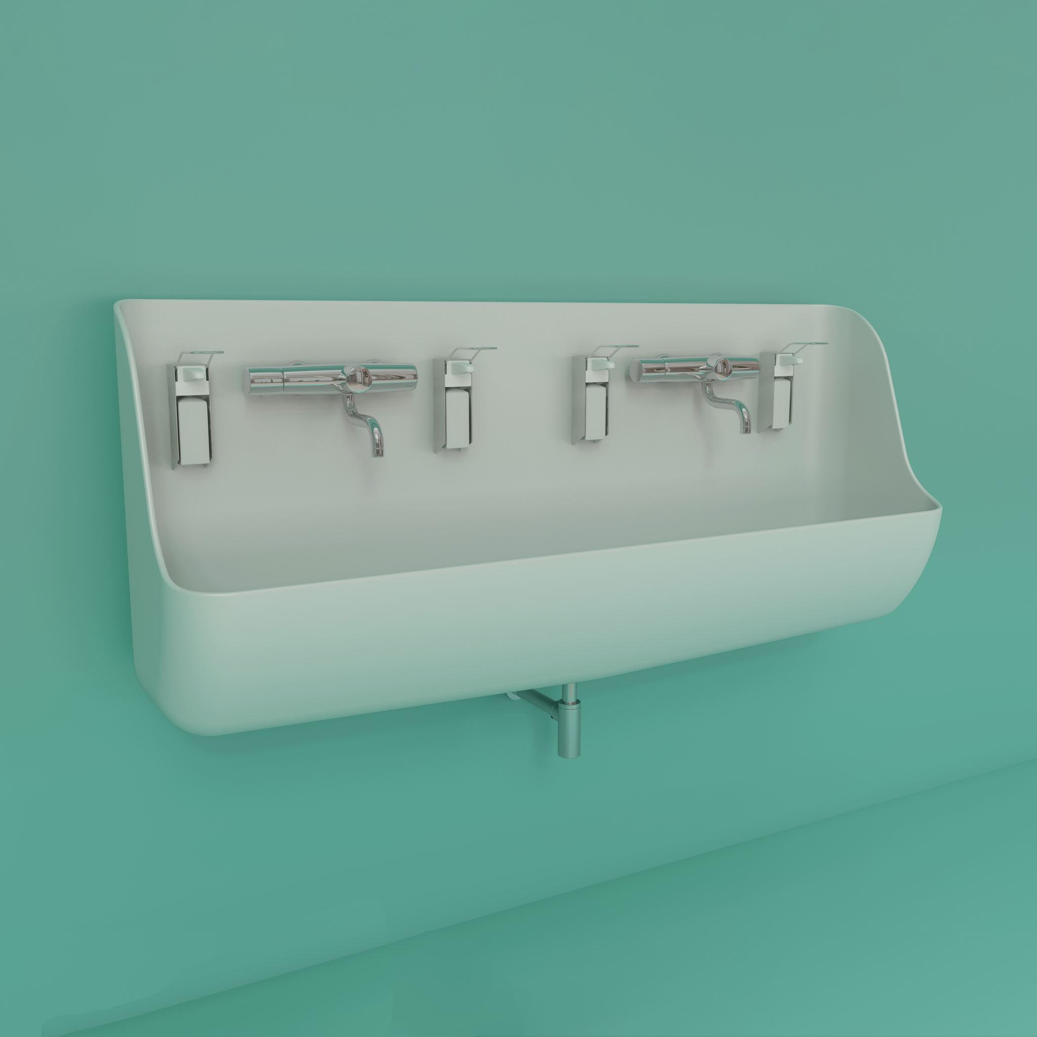 ABRA series scrub sinks