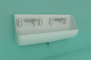 ABRA medical double sink 375x250
