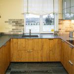 Virtuves virsma un lete