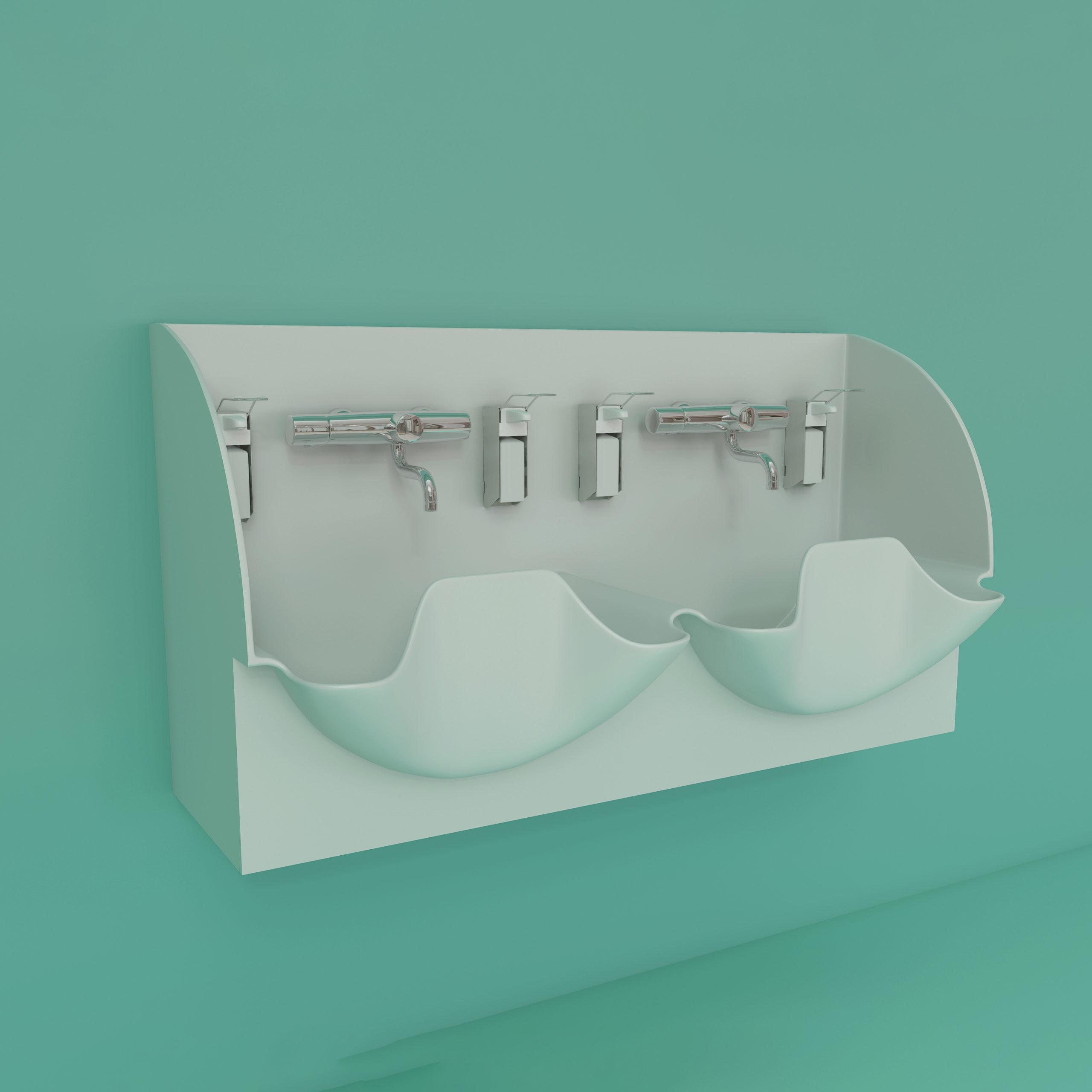 DB Medical Double scrub sink