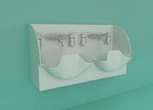 DB Medical double sink