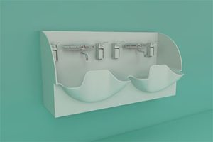 DB Medical double sink 375x250