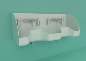 WDO Medical double sink