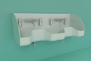 WDO Medical double sink 375x250