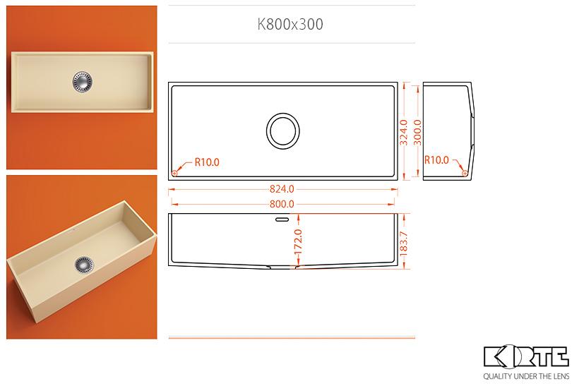Kitchen sink – K800