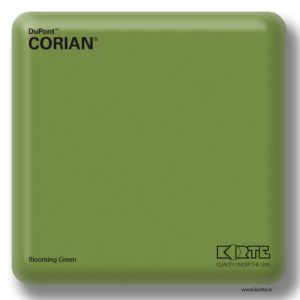Corian Blooming Green