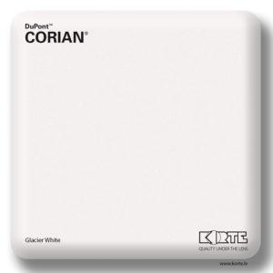 Corian Glacier White