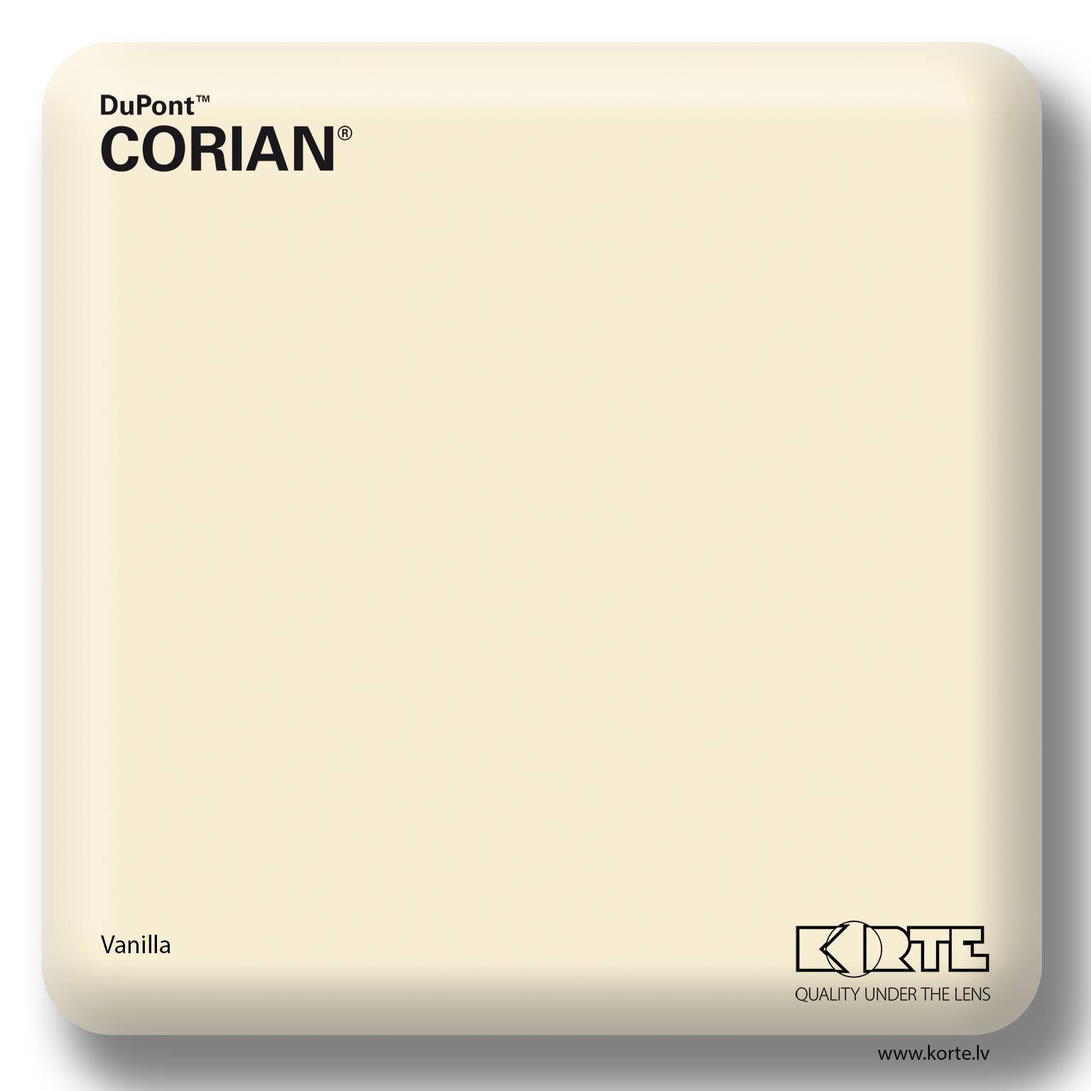 Corian Vanilla