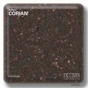 Corian Cocoa Brown
