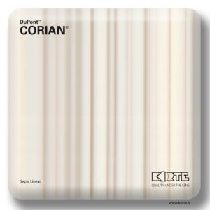 Corian Sepia Linear