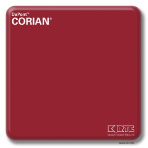 DuPont Corian Royal Red