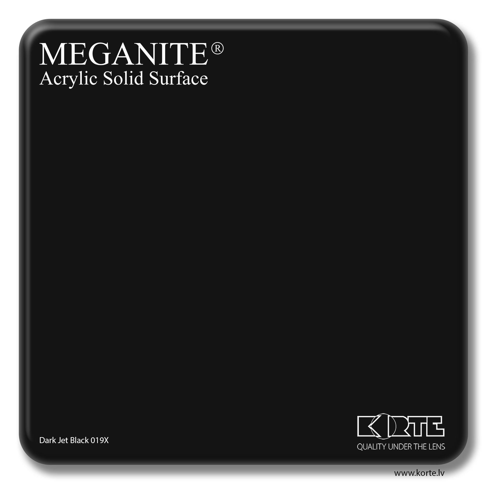 Meganite Dark Jet Black 019X