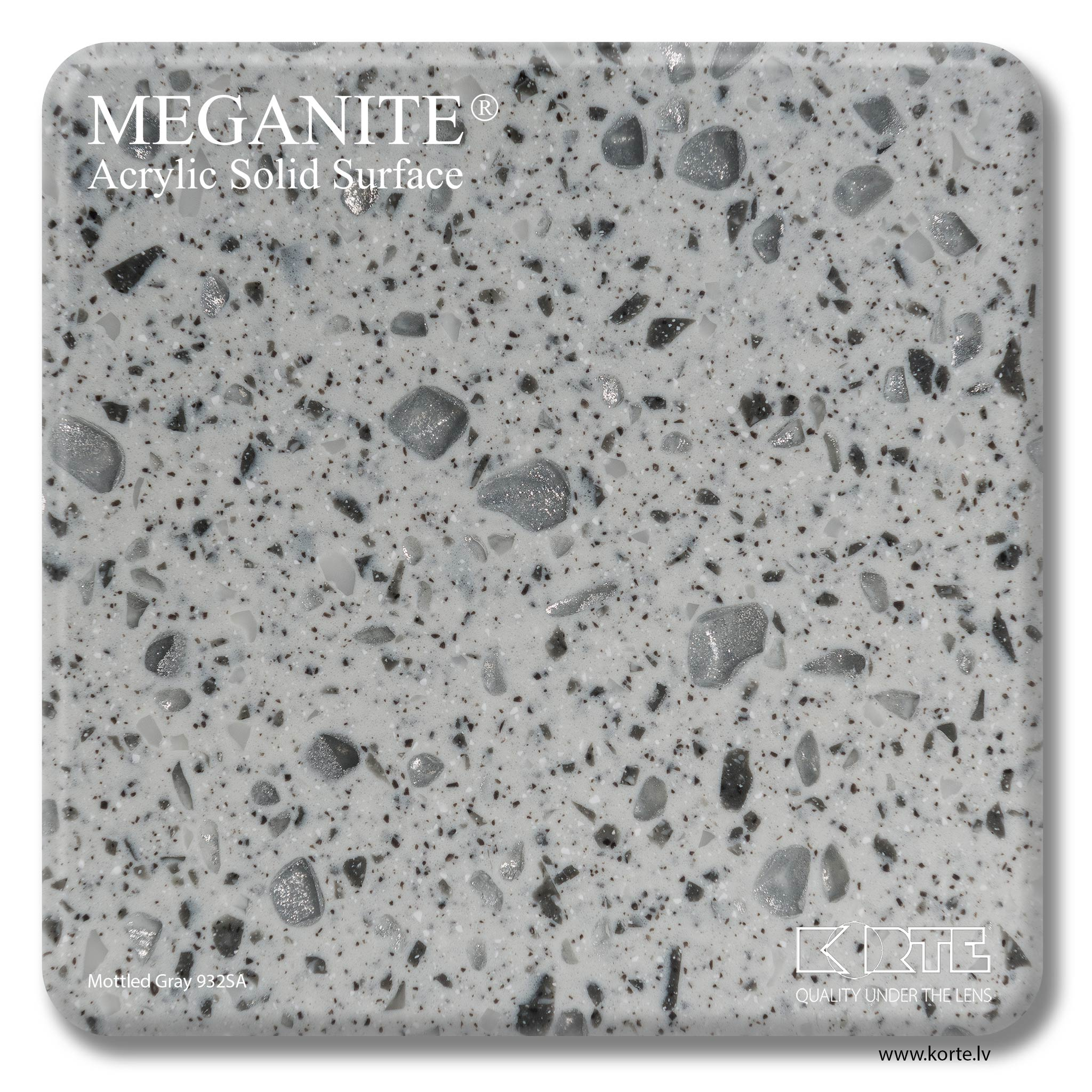 Meganite Mottled Gray 932SA