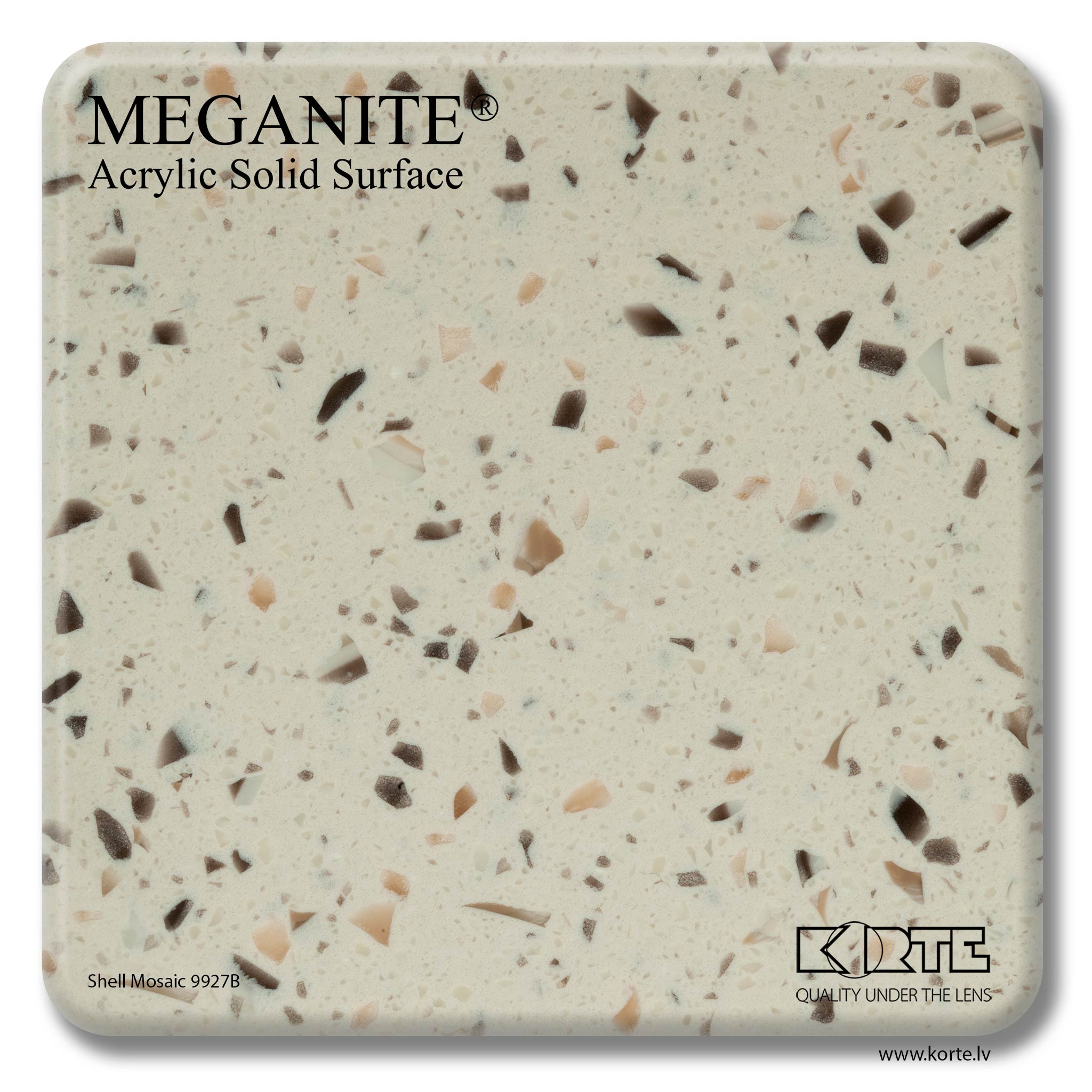 Meganite Shell Mosaic 9927B