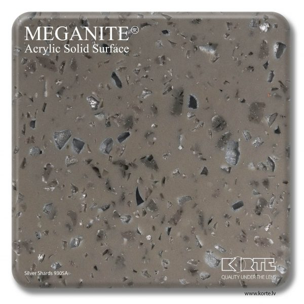 Meganite Silver Shards 930SA