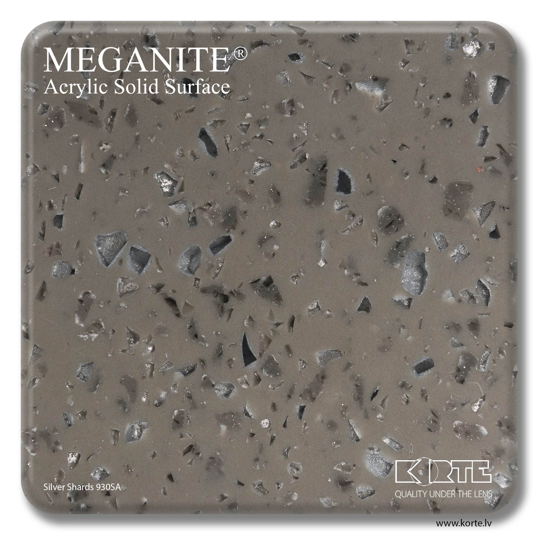 Meganite Silver Shards 930SA