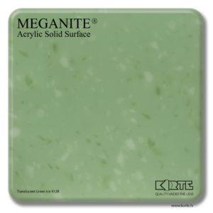Meganite Translucent Green Ice 912B