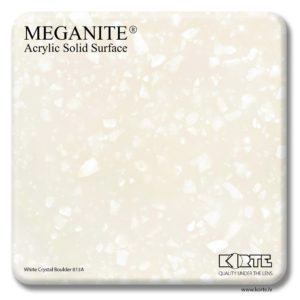Meganite White Crystal Boulder 813A