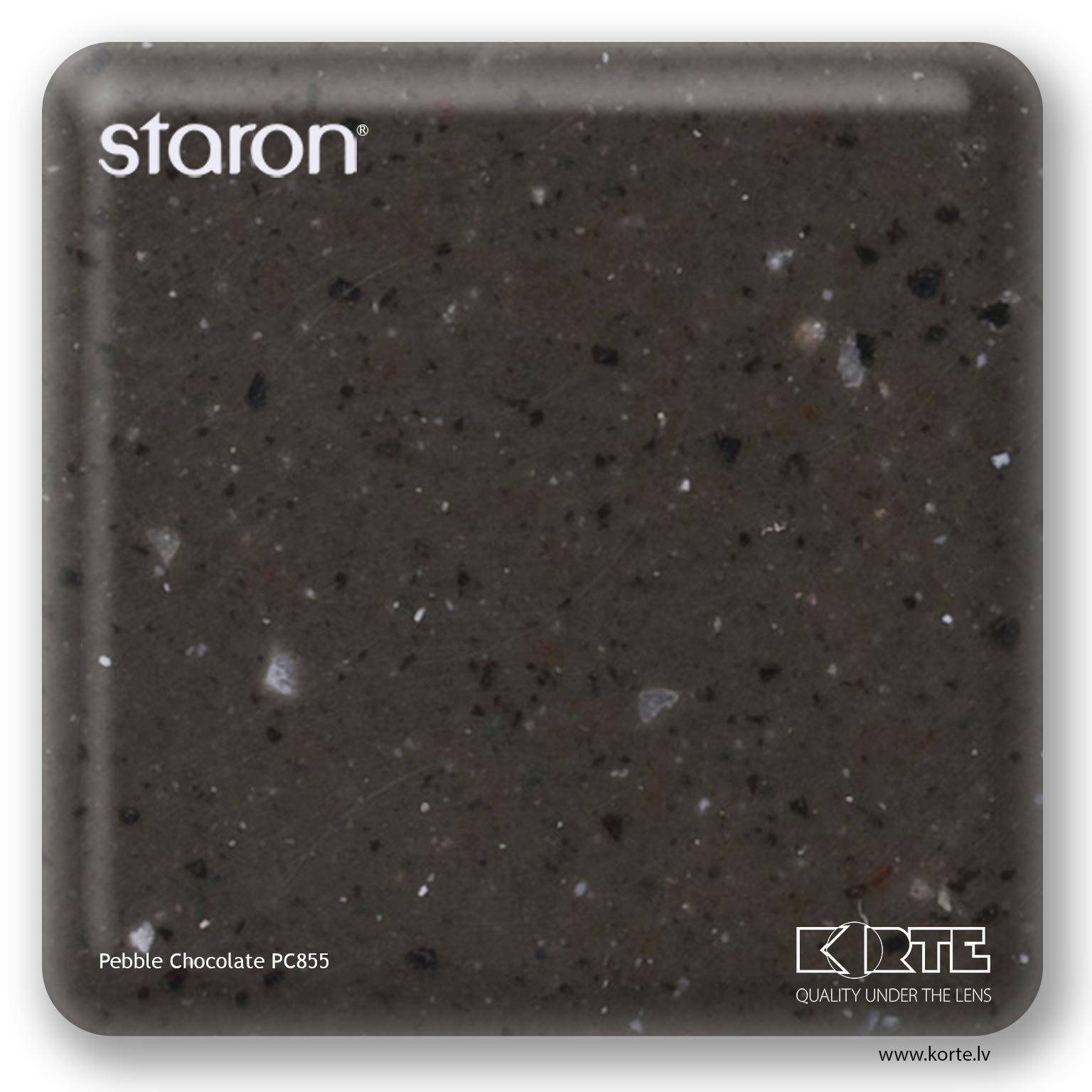 Staron Pebble Chocolate PC855