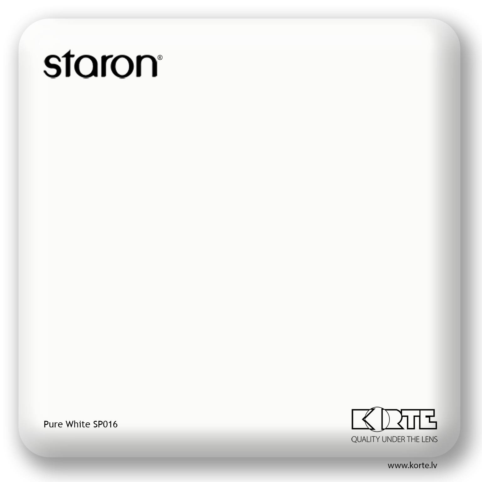 Staron Pure White SP016