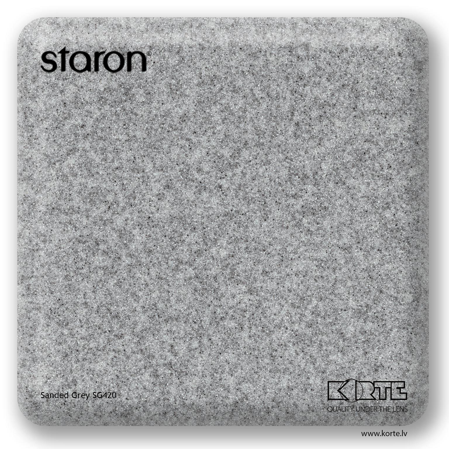 Staron Sanded Grey SG420