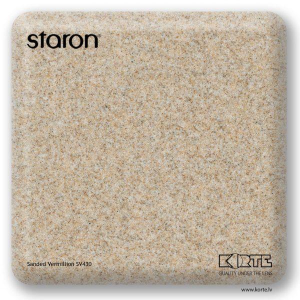 Staron Sanded Vermillion SV430