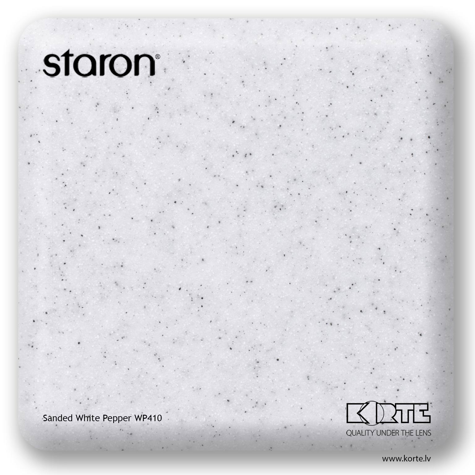 Staron Sanded White Pepper WP410