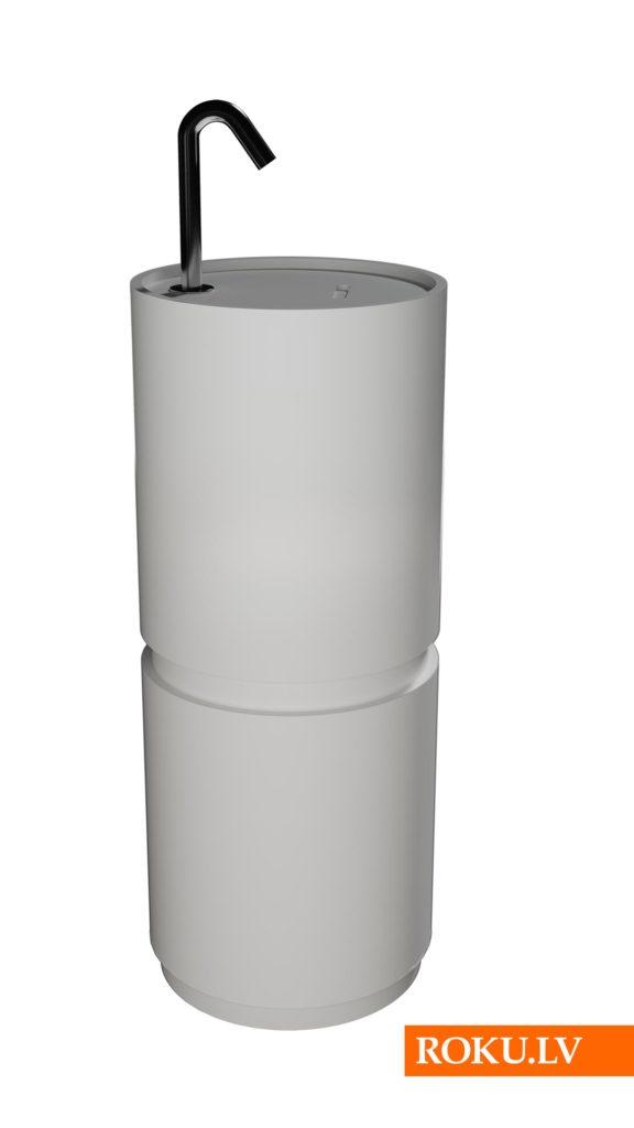 Roku dezinfekcijas stends Column