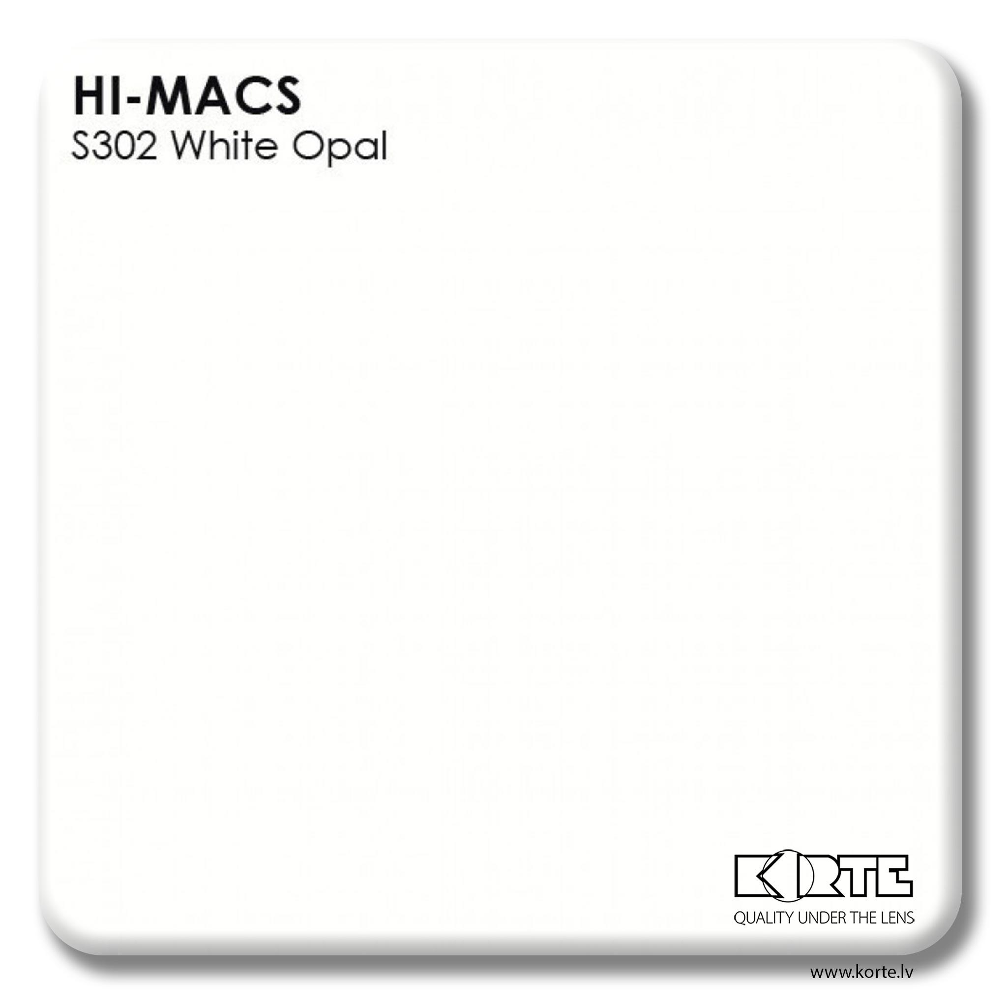 LG HiMacs White Opal