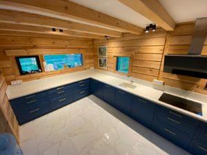 Liela virtuves virsma