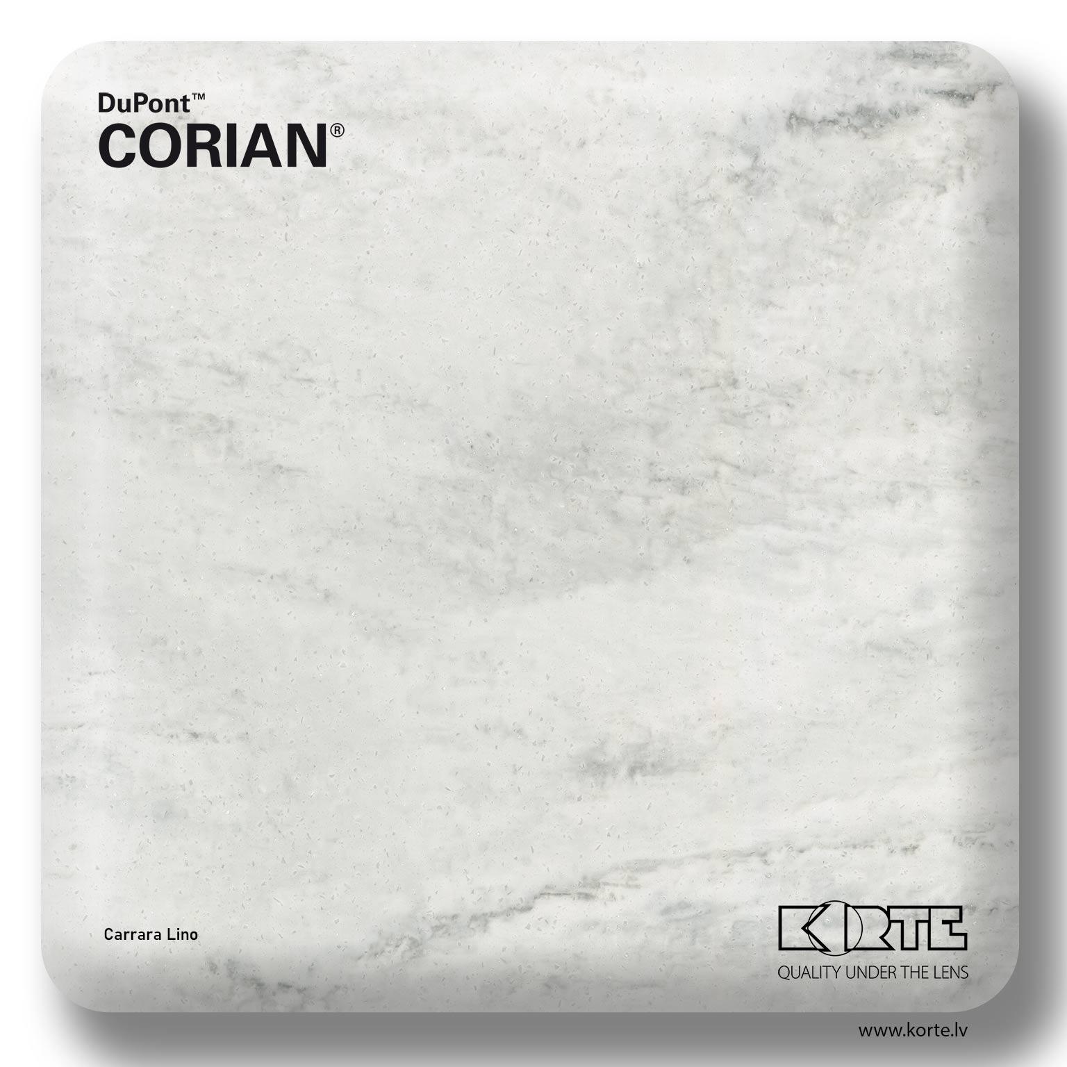 DuPont Corian Carrara Lino