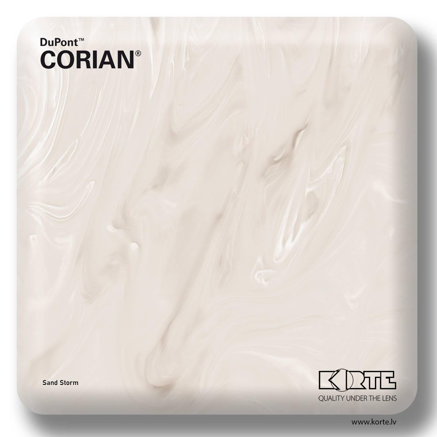 DuPont Corian Sand Storm
