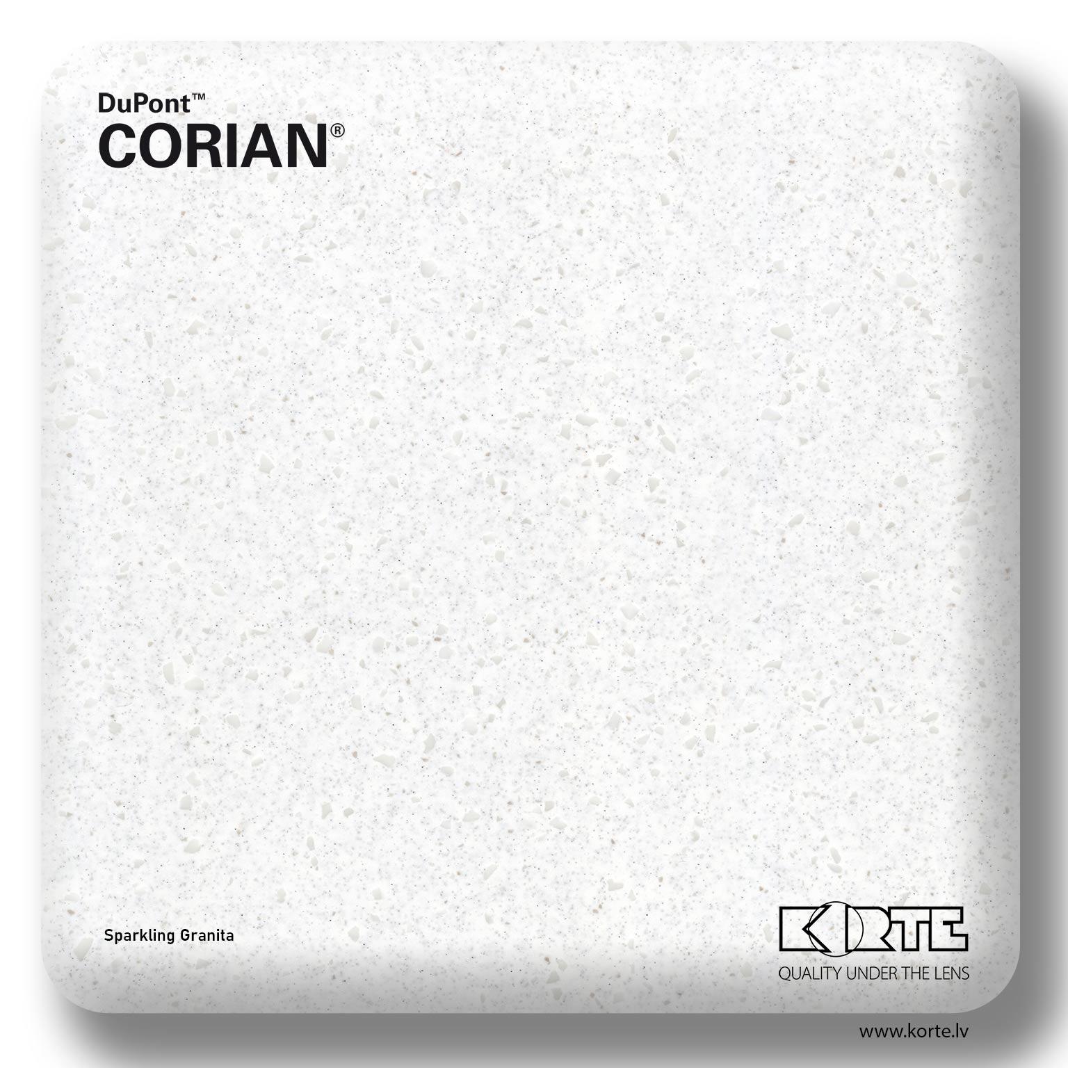 DuPont Corian Sparkling Granita
